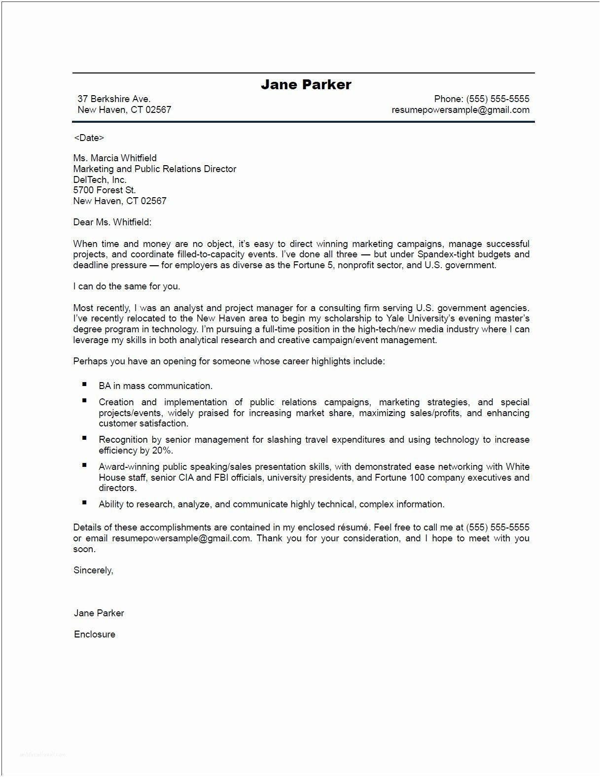 Sample Resume Cover Letter Examples 25 Sample Resume Cover Letter Sample Resume Cover Letter Sample