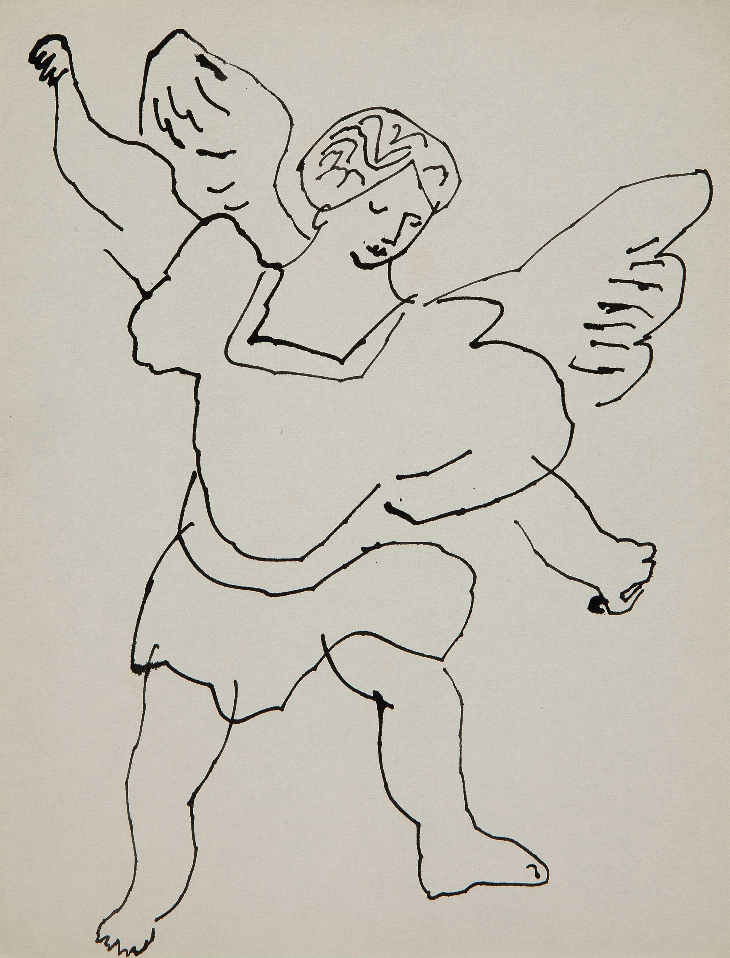 Angel | Ondas, Bocetos y Grabado