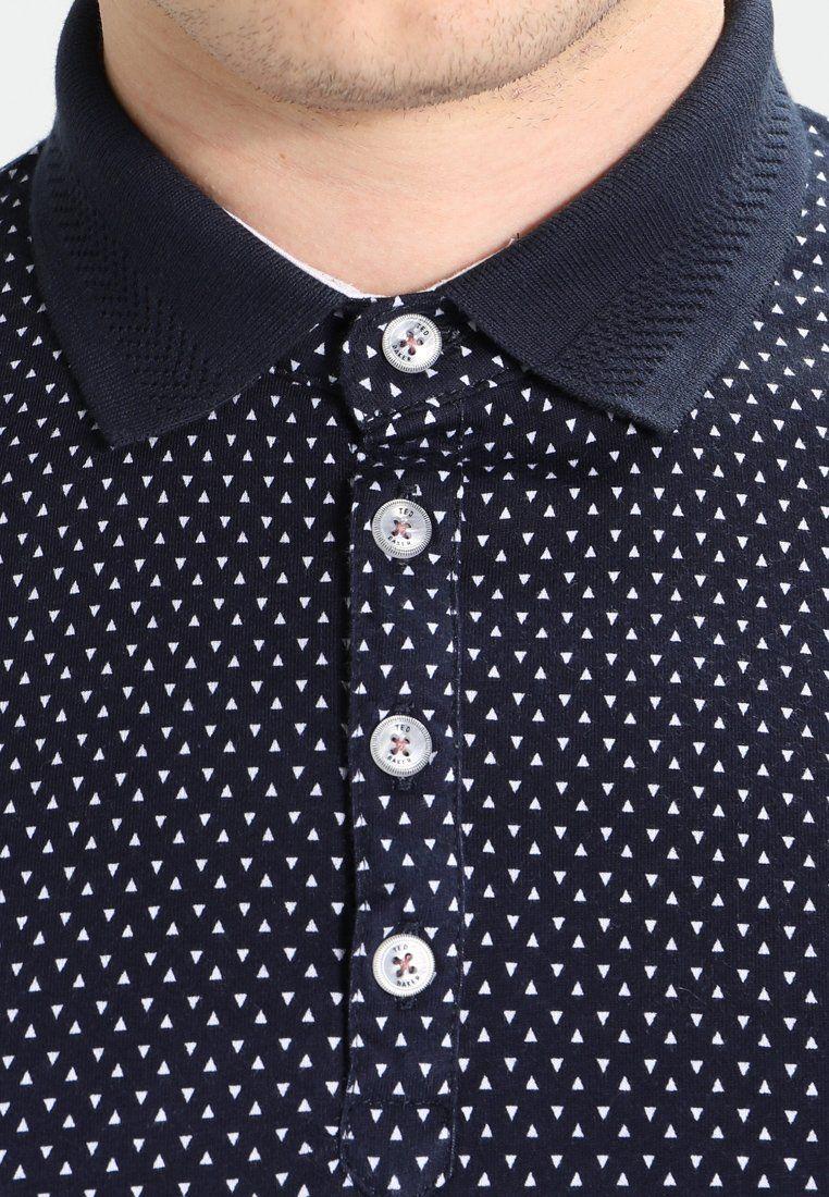 300329ed8e1189 Ted Baker BOXER ALL OVER GEO PRINT - Polo shirt - navy - Zalando.co ...