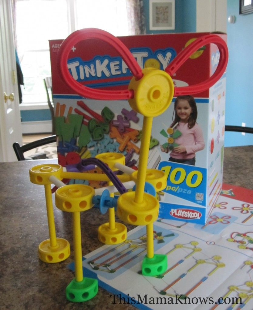 Happy 100th Birthday Tinkerytoy! Celebrate by winning a Tinkertoy 100 Piece Essentials set!