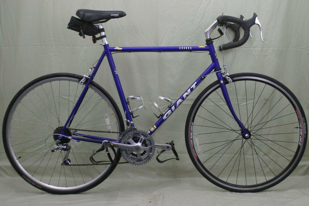 Giant Nrdnds Road Bike 90s L 57cm 700c Gravel Touring Steel Pro
