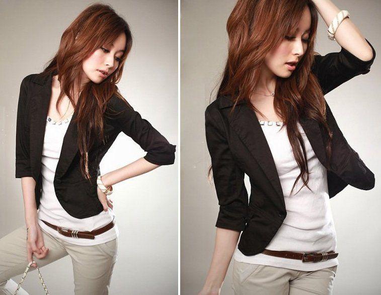 Black Dress Jackets For Women