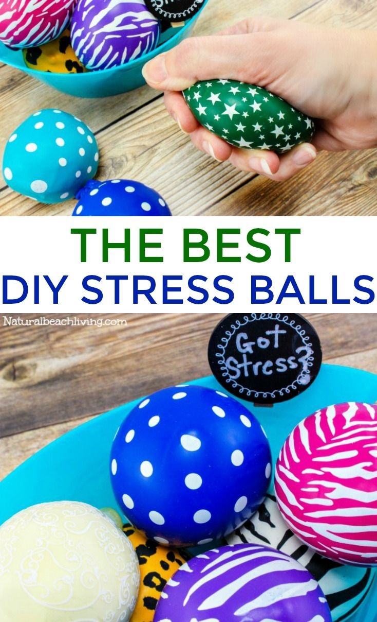 How to Make a Stress Ball Kids and Adults Love - N