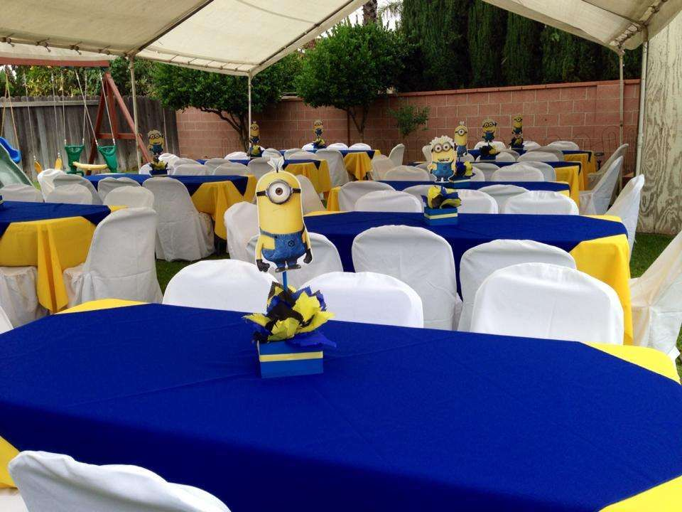 Minions Baby Shower Party Ideas
