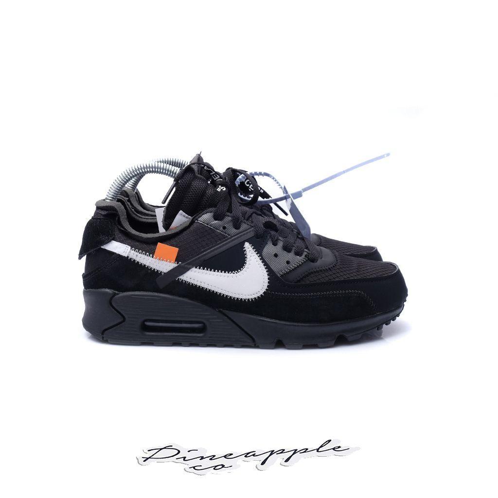 Nike Air Max 90 X Off White Black Novo Pineapple Co Nike