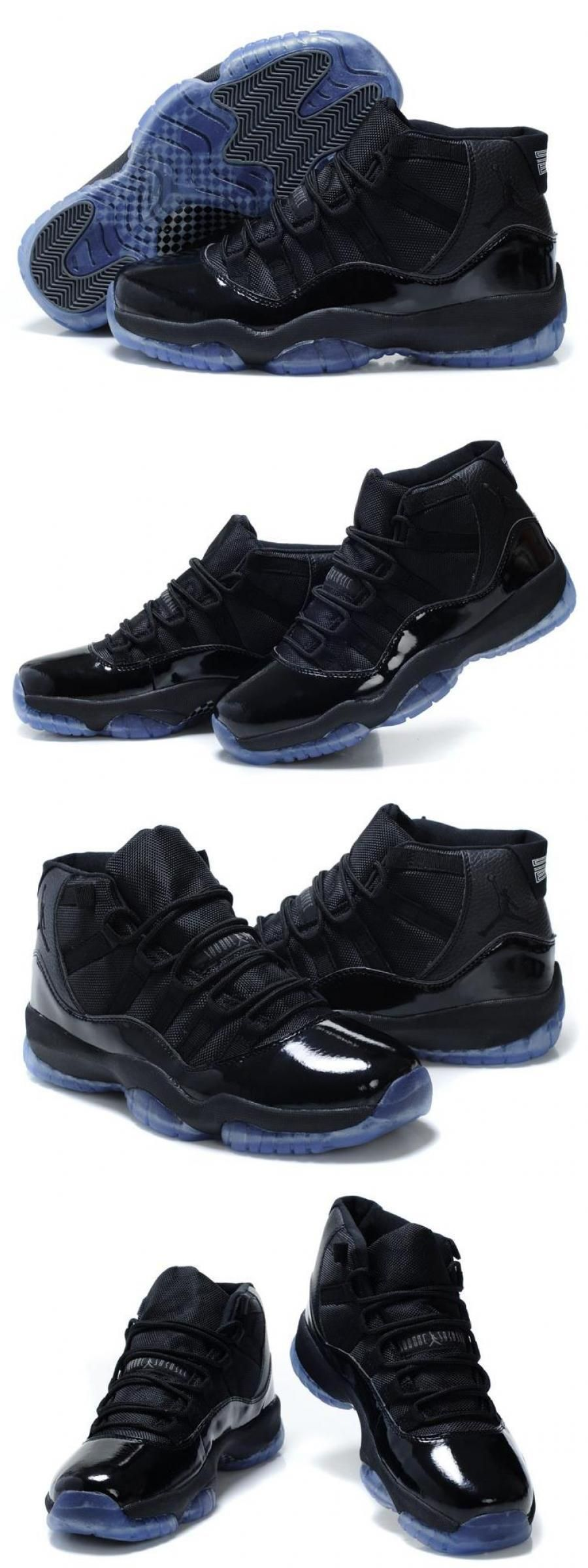 "2020 的 Air Jordan 11 Retro ""blackout"" All Black 主题"