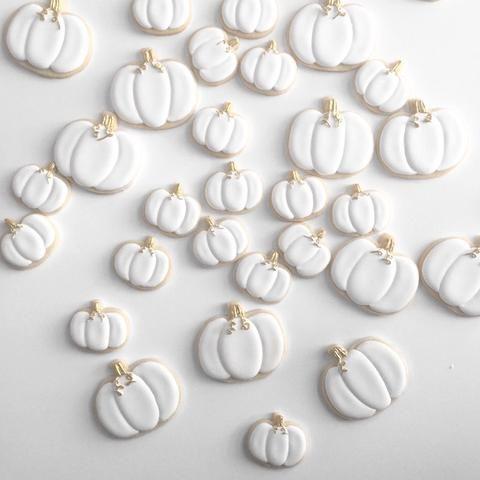 Cream of the Crop: White Pumpkin Cookies - Cookie