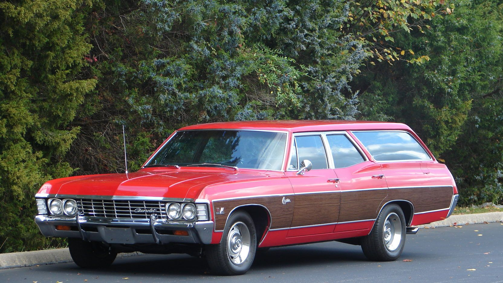 1967 Chevrolet Caprice Station Wagon Presented As Lot F56 At