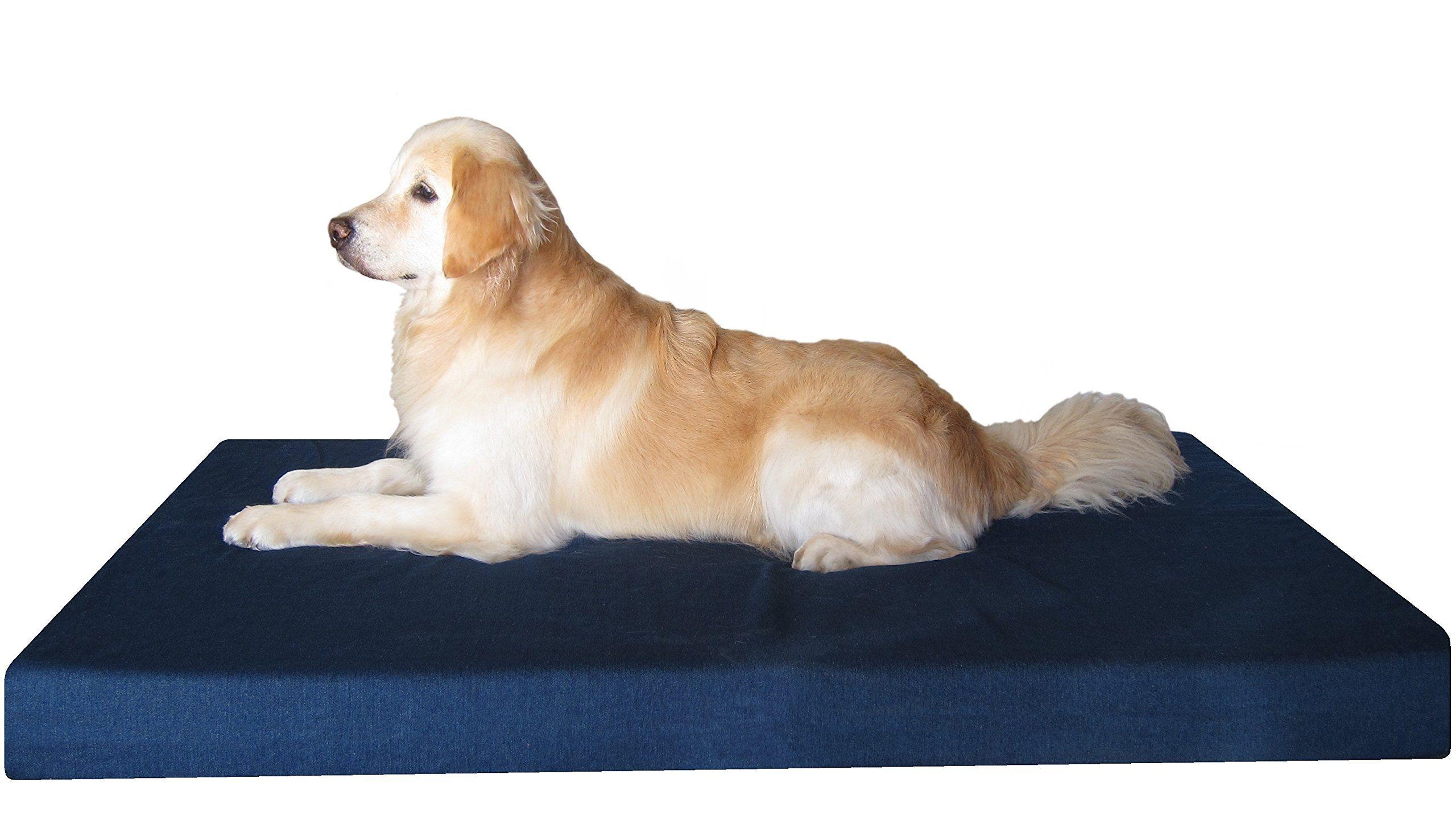 Dogbed4less Orthopedic Waterproof Heavy Duty Gel Memory