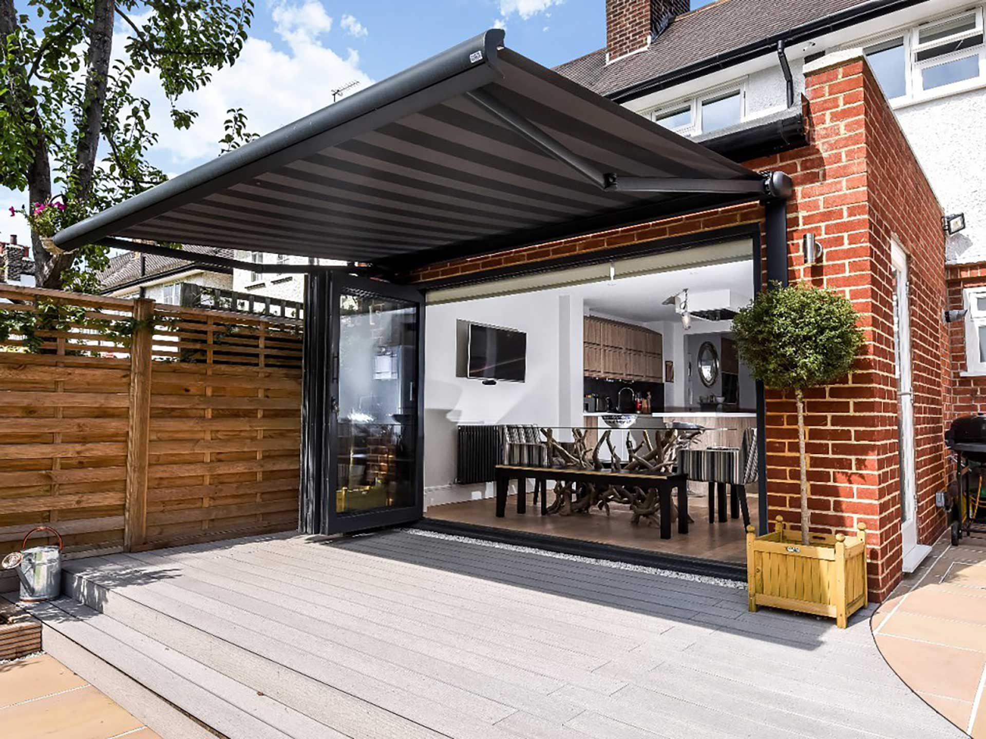 Garage Awning Extension Back Extension Patio Awning Decking Back Garden Corepro