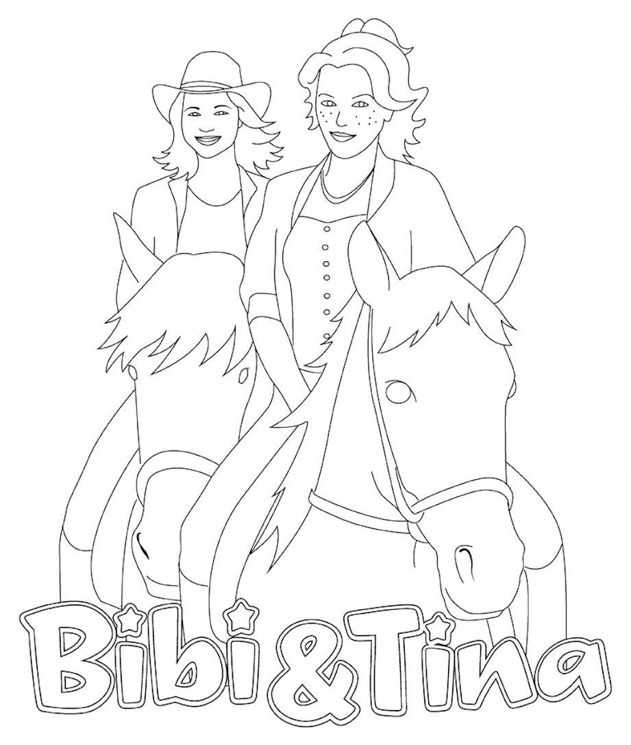 Bibi Und Tina 4 Ausmalbilder : Ausmalbilder Bibi Und Tina Kostenlos Ausmalbilder F R Kinder