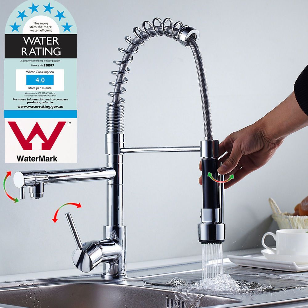 http://www.ebay.com.au/itm/AU-Kitchen-Faucet-360-Swivel-Chrome-Pull ...