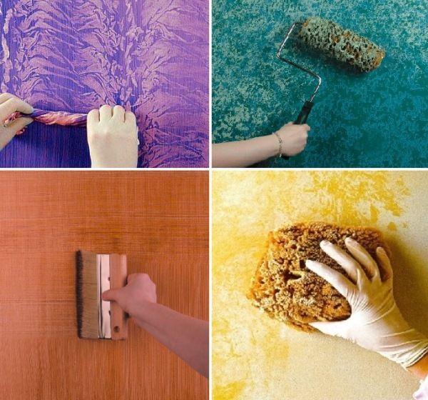 Interesting Wall Paint Ideas Furnish Burnish Wall Painting Techniques Wall Painting Sponge Painting Walls