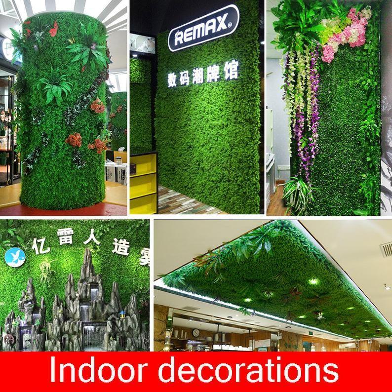 Artificial Fake Green Plants Grass Backdrop Flowers Wall Etsy In 2020 Grass Backdrops Green Grass Background Artificial Grass Wall
