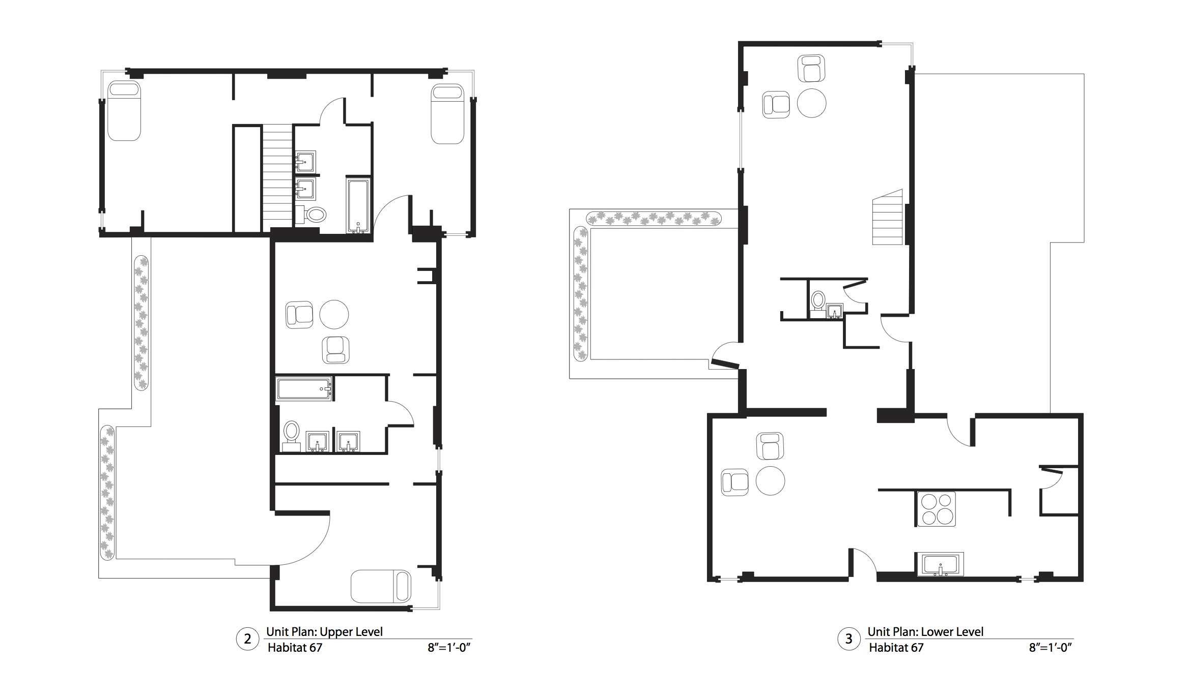 Habitat 67 Floor Plans