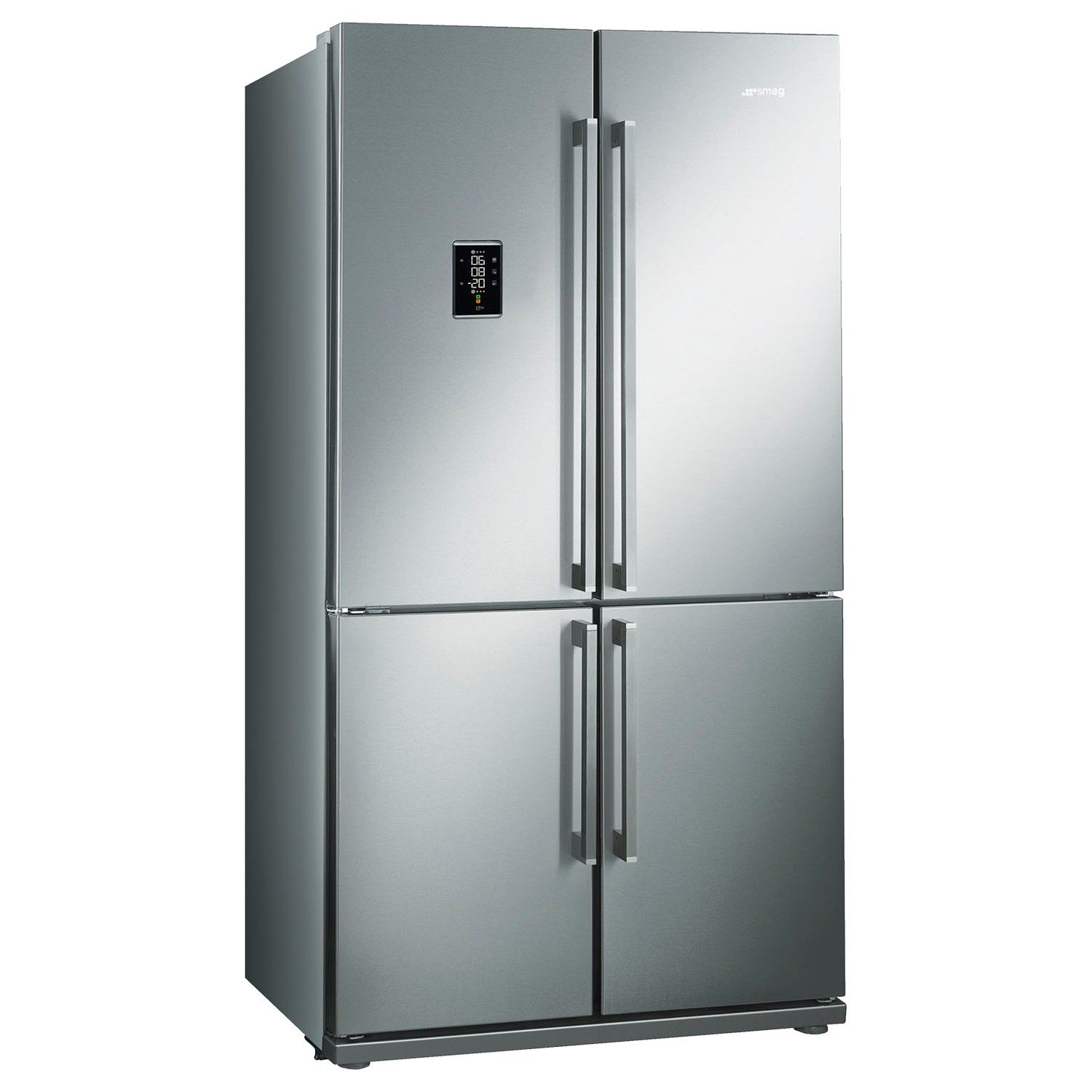 Smeg FQ60XPE Freestanding Fridge Freezer A Energy Rating 92cm