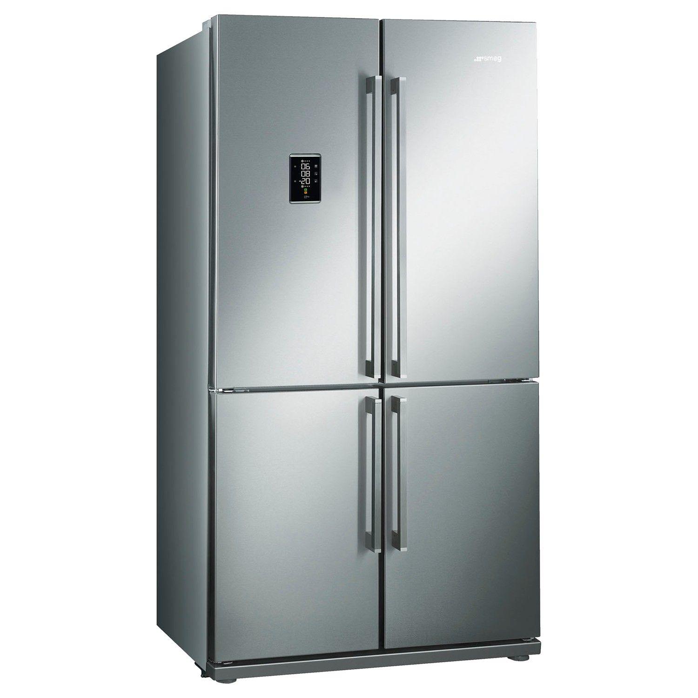 Smeg FQ60XPE Freestanding Fridge Freezer A Energy Rating 92cm