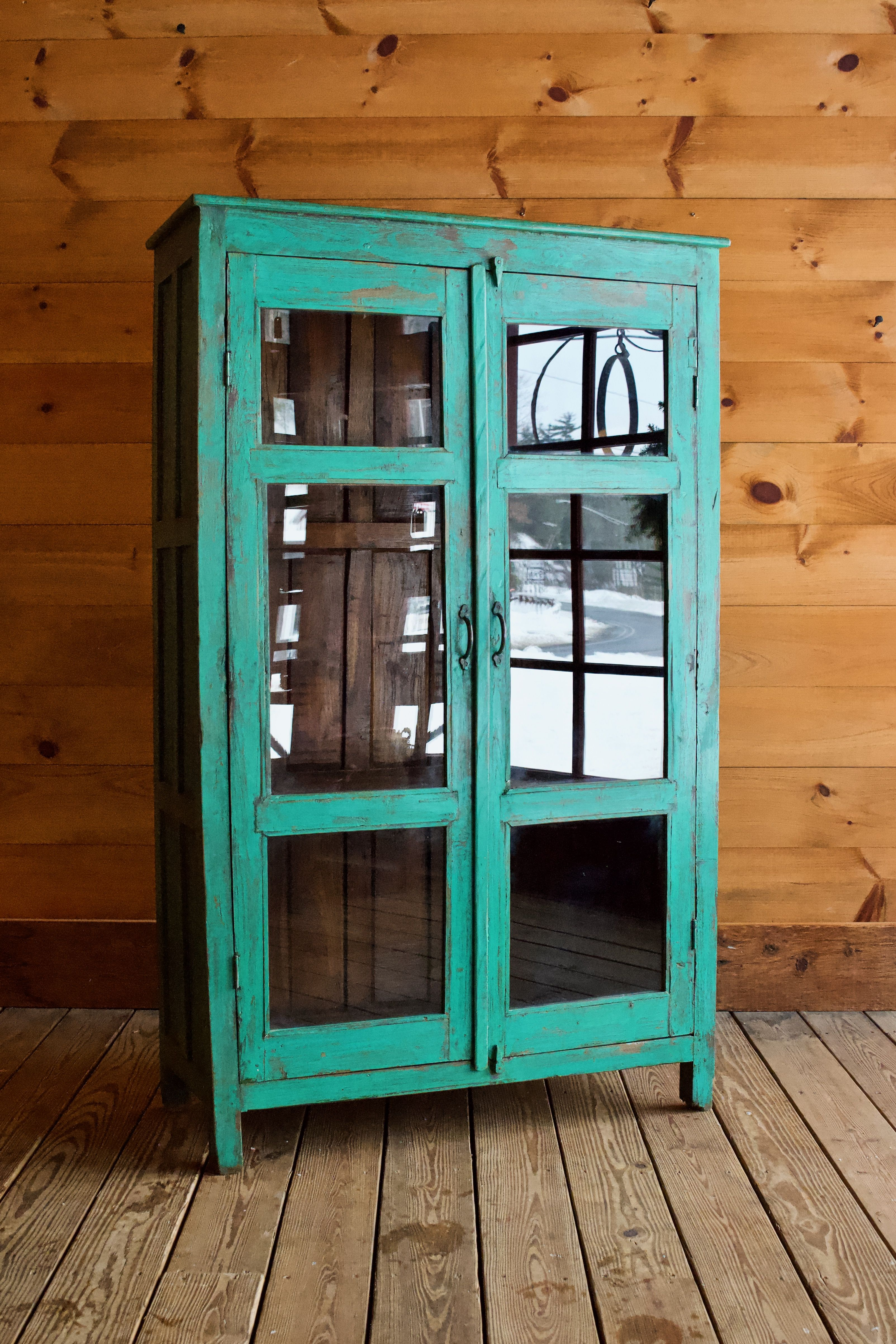 Vintage Rustic Painted Cupboard Painted Cupboards Rustic Furniture Stores Transitional Living Room Furniture