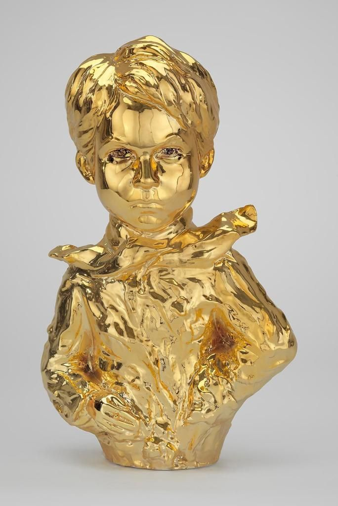Genius Nicolai (Gold) by Nir Hod (2013)