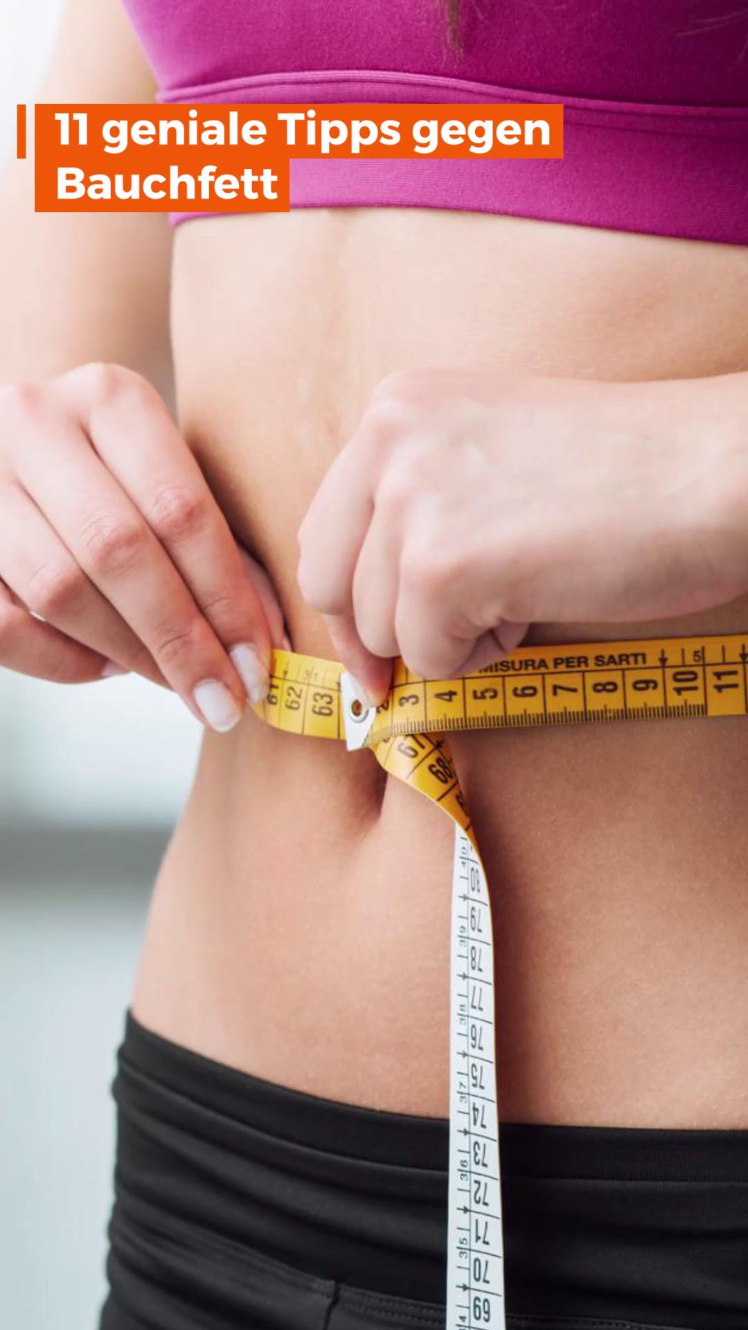 11 Tipps gegen Bauchfett   – Video-Tipps: Abnehmen, Ernährung & Lifehacks
