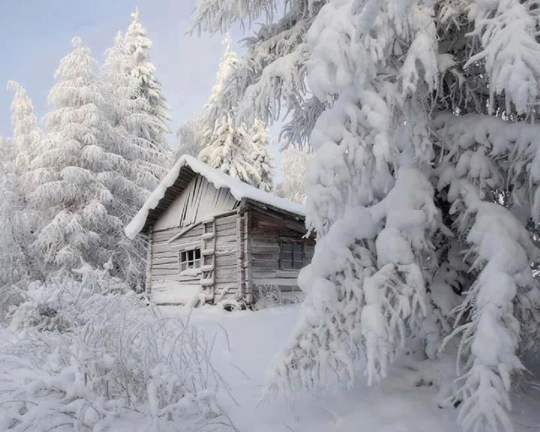 cabin in the woods during winter winter pinterest On snowy cabin in the woods