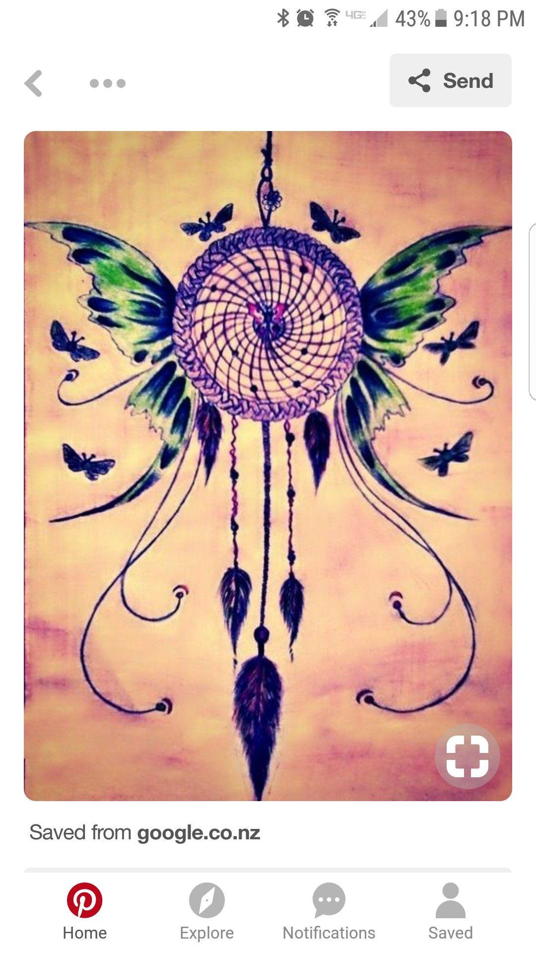 dreamcatcher tattoo template.html