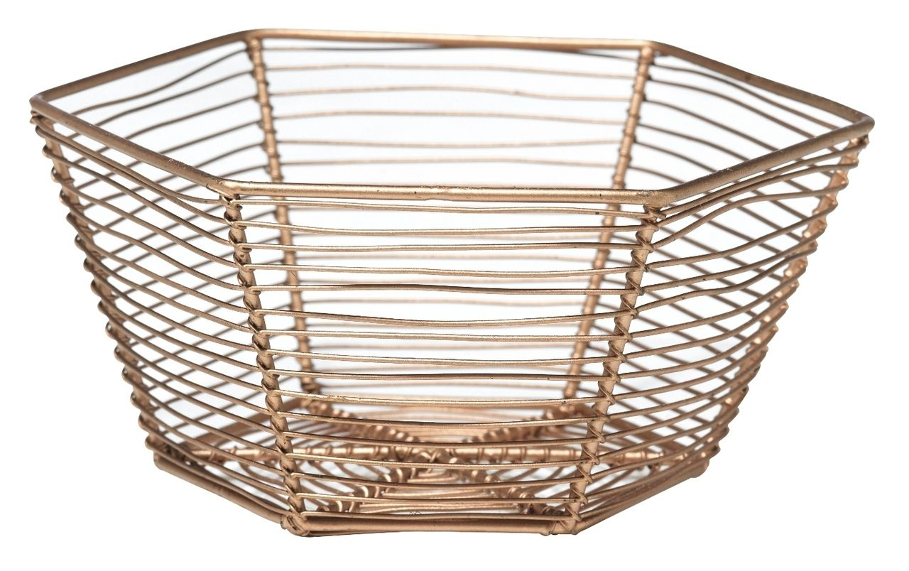 Room and Bloom - Wire Basket - Copper, $21.00 (http://www ...