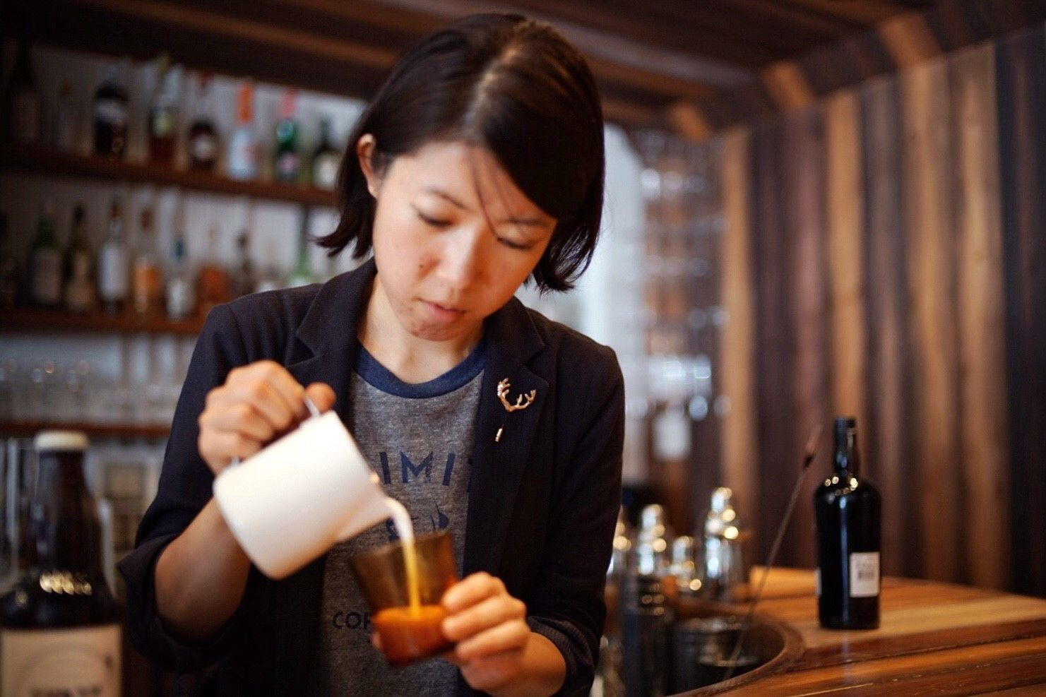 Endless possibilities at unlimited coffee bar in tokyo