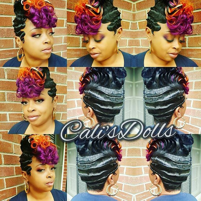 Fingerwaves Quickweave Scstylist Hair And Beauty