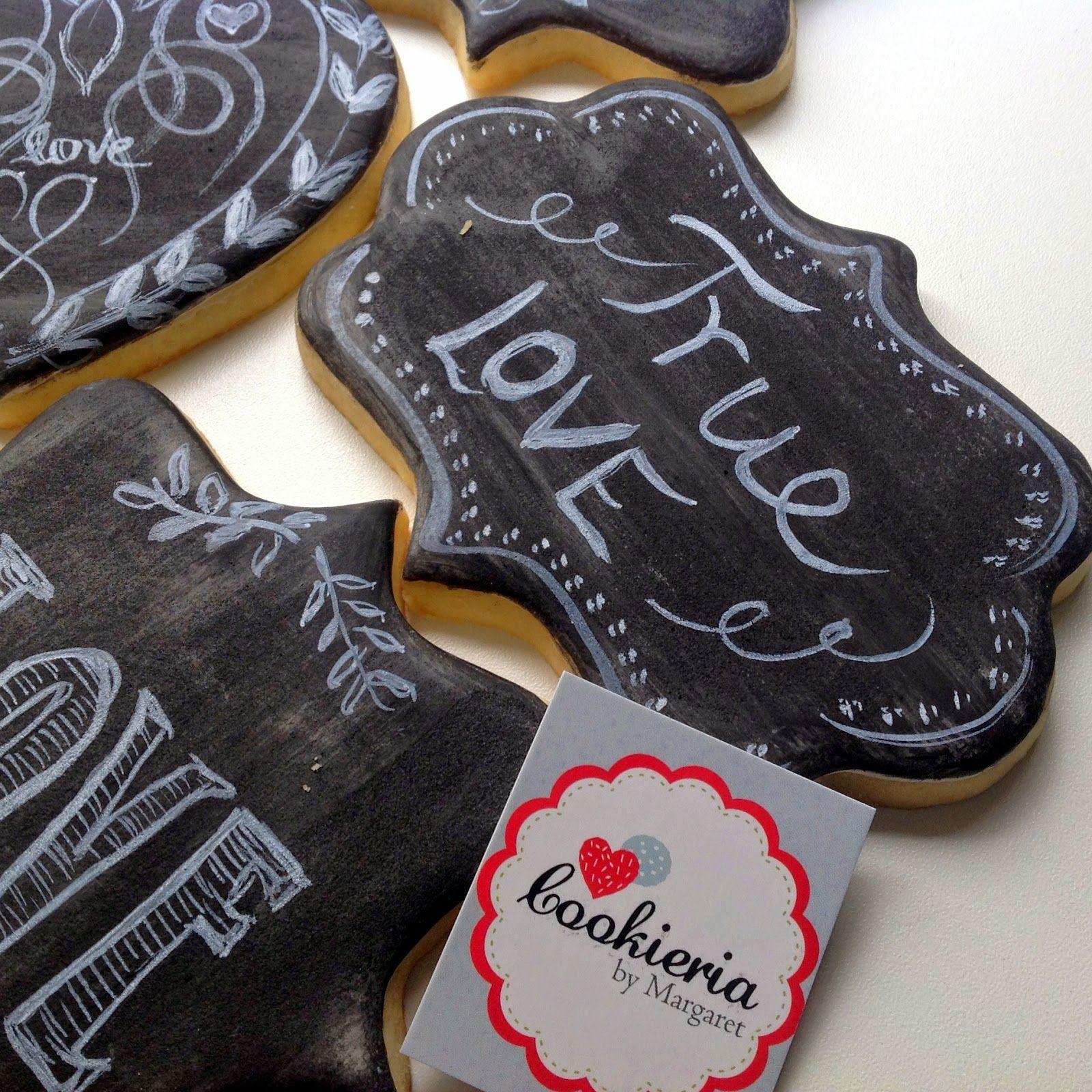 Cookieria By Margaret: Cookies Në Style dërrasë ose whiteboard ...