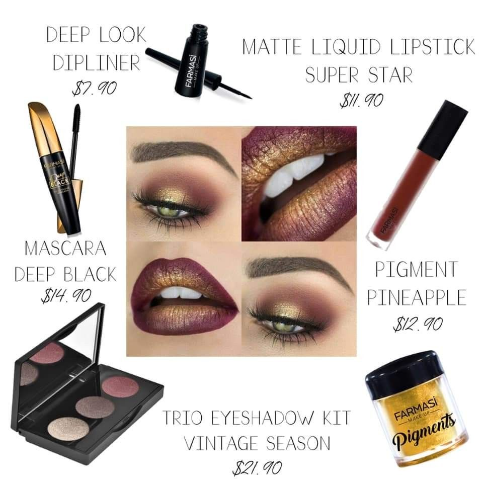 Add color to your fall fashion with Farmasi Cosmetics