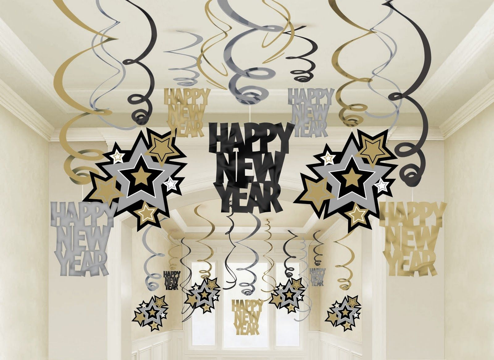 Uncategorized Happy New Year Decoration Ideas google image result for http1 bp blogspot com nuubrxzerga i love this color scheme our new year party decornew years hanging swirl decorations