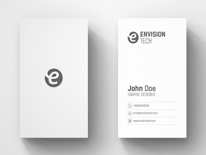 20 Minimalistic Business Card Designs For You To See | Minimal ...