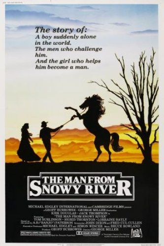 The Man From Snowy River 1982 Australian Cowboys And So Much Less Dusty And More Green Than American Westerns Man From Snowy River Good Movies Movies