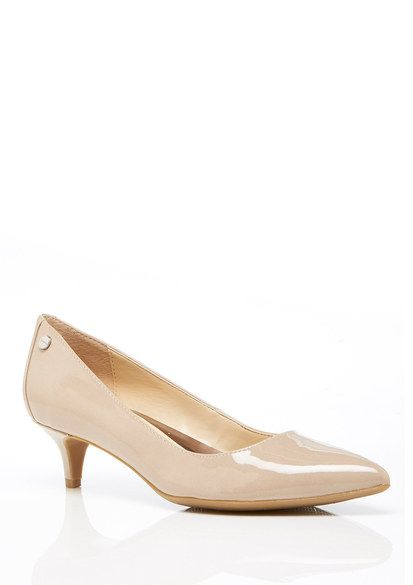 05f9fa0f540 $30 - Calvin Klein - Nude Kitten Heel Pump | Women's Shoes in 2019 ...