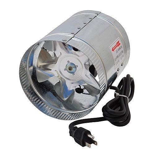 New 6 Inch 240 Cfm Air Duct Inline Hydroponic Booster Fan Cfm Air Duct Room Ventilation Exhaust Fan