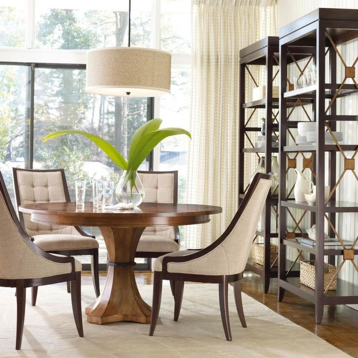 Dining Room Pedestal Table Invest In Pedestal Dining Room Table For A Magnificent Beauty And