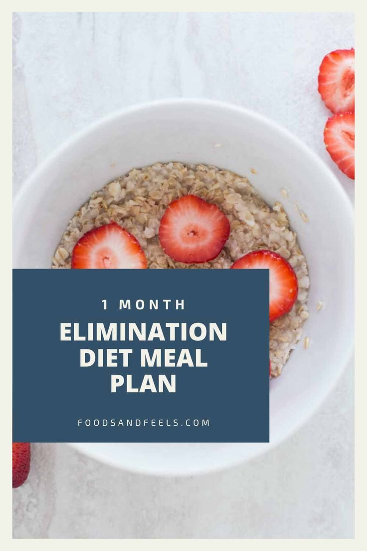 Pin on elimination diet