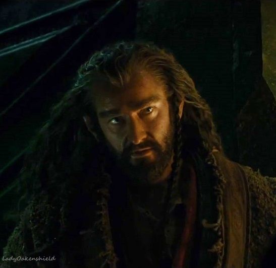 Thorin - you are right not to trust Bilbo!