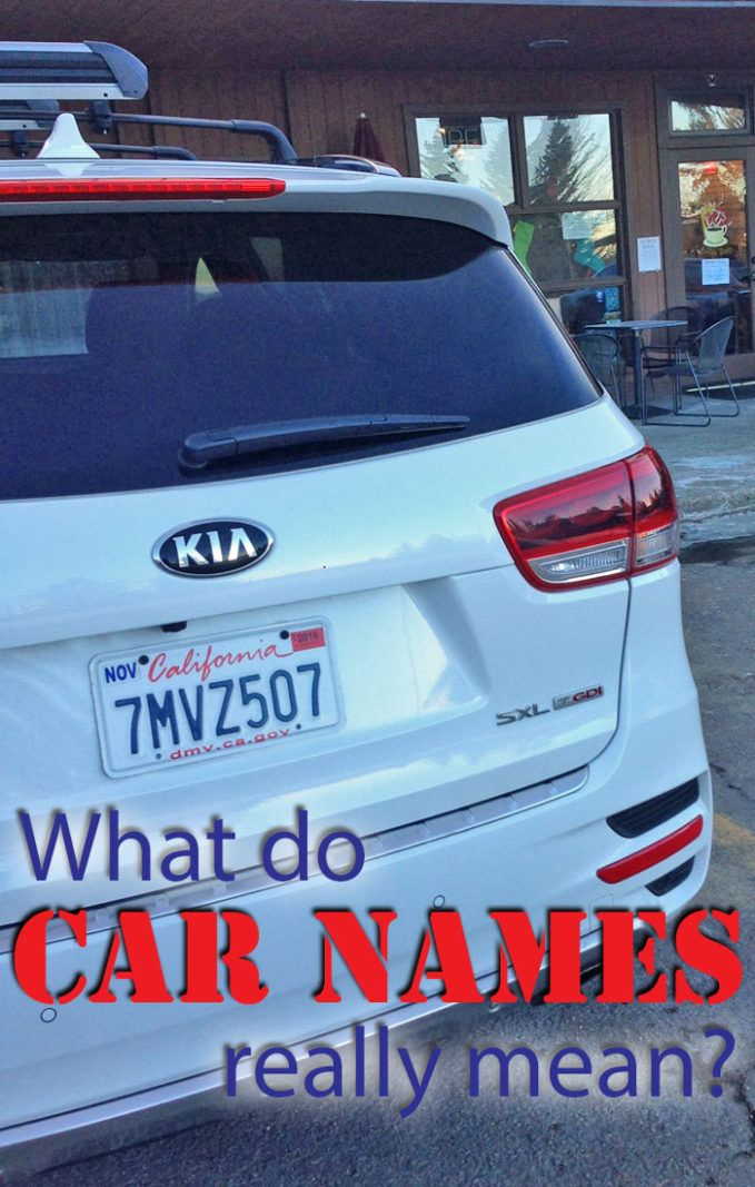 Do You Know Where Car Names Come From What S The Difference Between A Ct And Ctx Or 1500 2500 3500 We Ve Got Answer