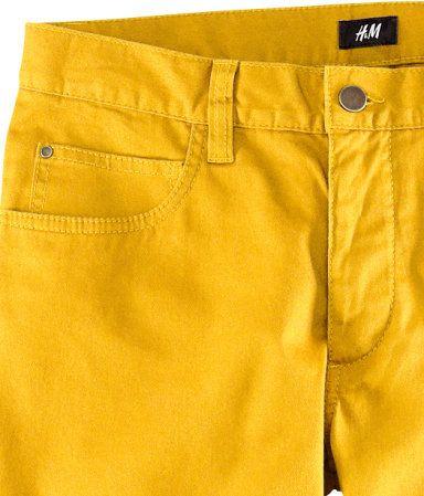 H and M, Yellow Pants, $30