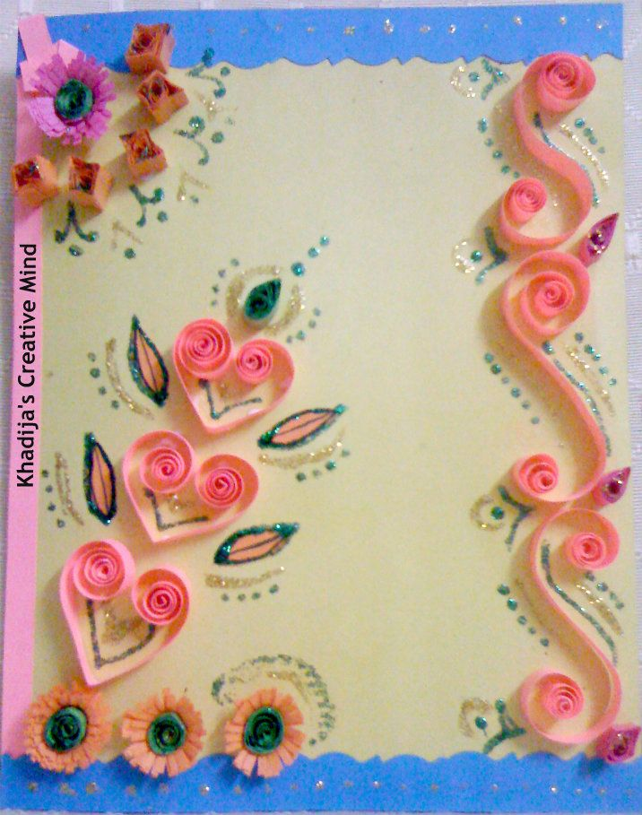 Delightful Quilling Card Making Ideas Part - 4: Card Making Ideas U0026 Tutorials For Eid. Learn How To Make Eid Cards, Easy Card  Making Ideas For Kids. Enjoy Free Card Making Ideas In My Creative  Collections