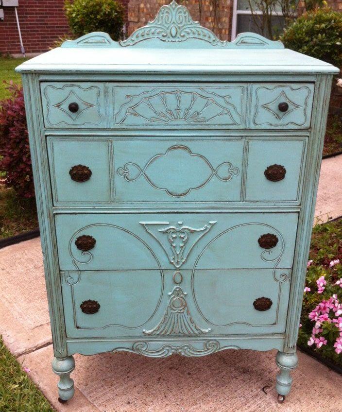 Comment nettoyer simplement un meuble en bois peint ? - Les - meuble en bois repeint