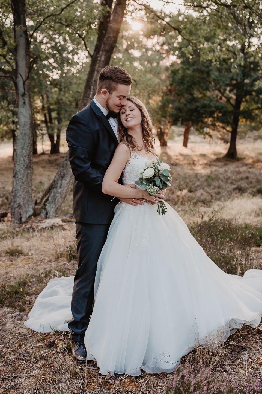 Brautpaarshooting in der Heide