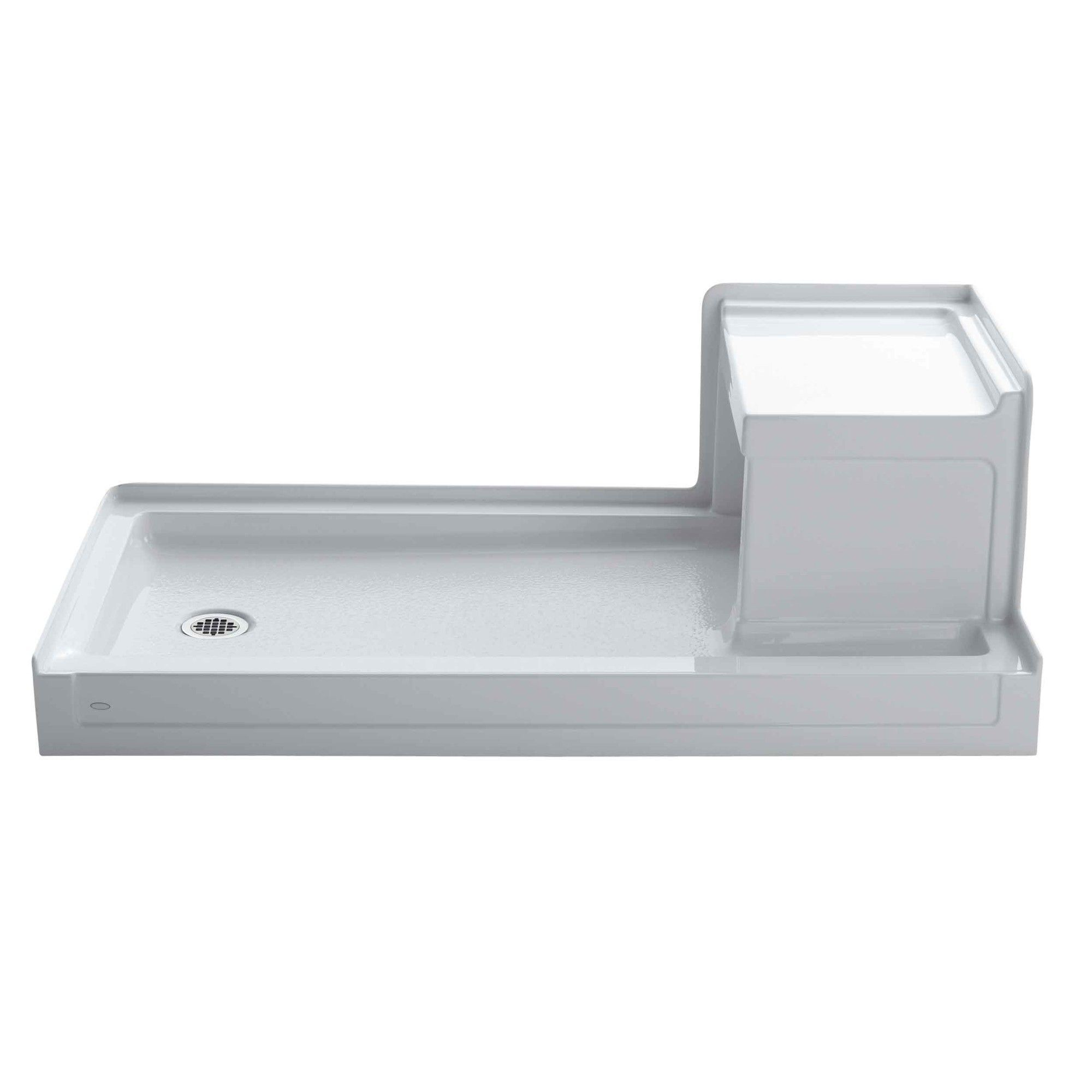 Tresham 60 X 32 Single Threshold Left Hand Drain Shower Base