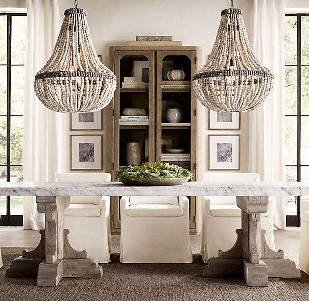 Large Size Of Marble Dining Om Table Restoration Hardware: 17th C. French Bastide Oak & Marble Rectangular Dining