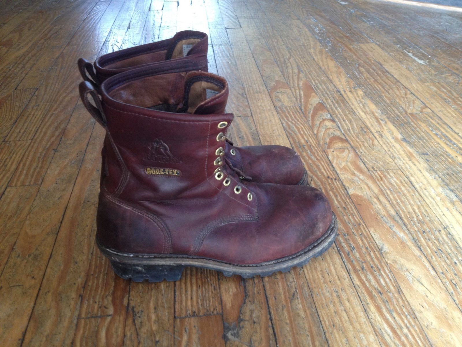 Work & Safety Leather Medium (D, M) ROCKY Boots for Men   eBay