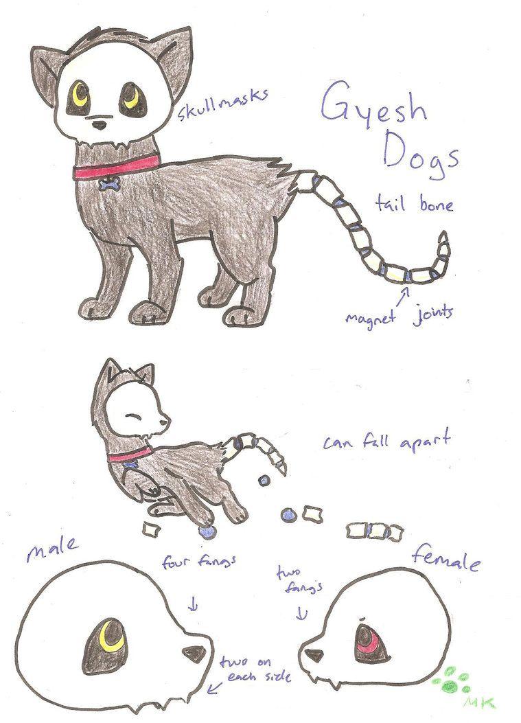 New Species: Gyesh Dog by fangs211 deviantart com on
