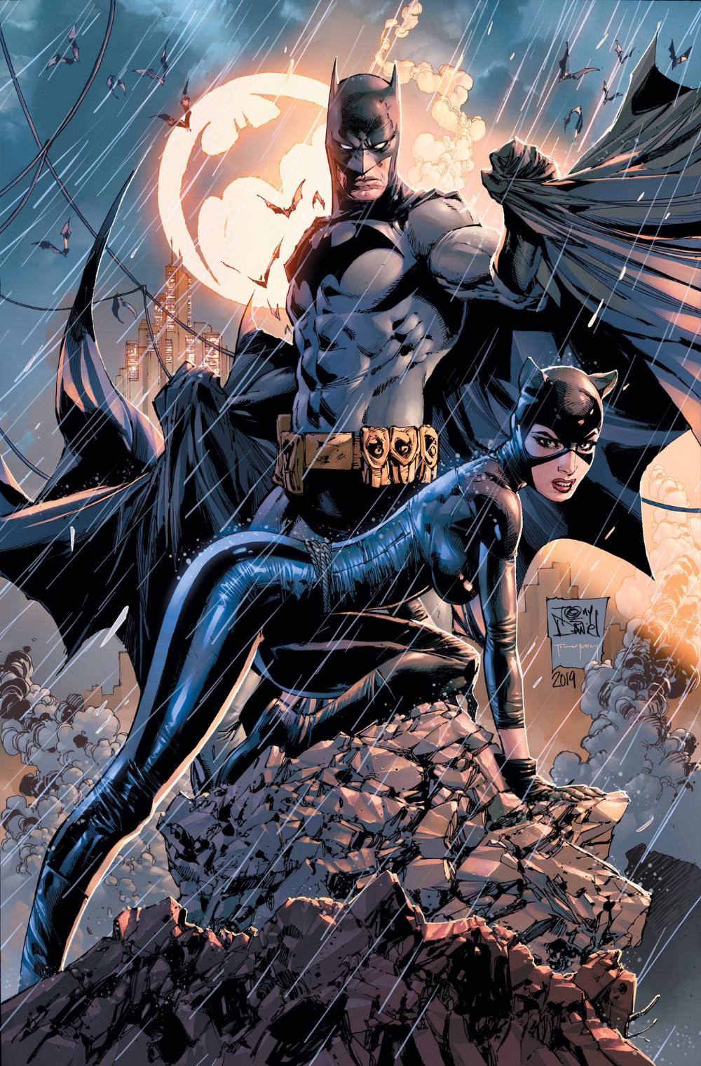 Batman Catwoman | Batman plakat, Dc comics art, Comic