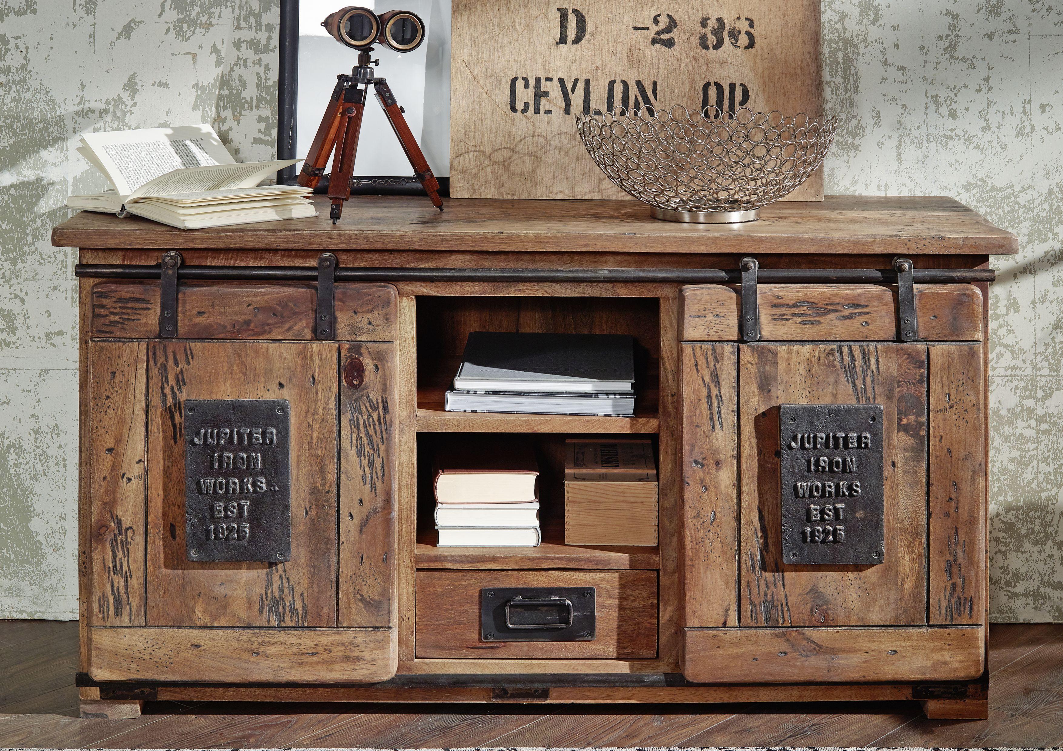 vintage m bel f r wohn schlaf und esszimmer m bel serie railway pinterest tv board. Black Bedroom Furniture Sets. Home Design Ideas